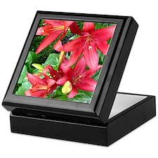 lilies Keepsake Box