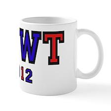 newt2012rednBlue Small Mug