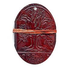 jfkdjfsal Oval Ornament
