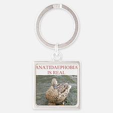 anatidaephobia2 Square Keychain