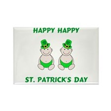 Happy St. Patrick's Day Rectangle Magnet
