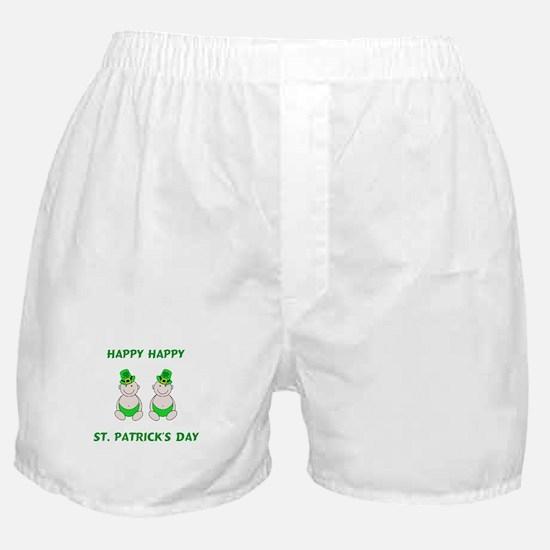 Happy St. Patrick's Day Boxer Shorts