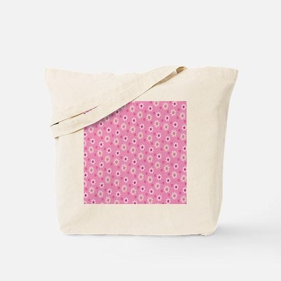 Daisies on Pink Tote Bag