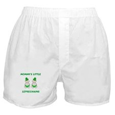Mommy's Little Leprechauns Boxer Shorts