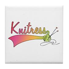 Knitress Tile Coaster