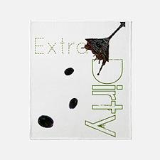 extra dirty copy Throw Blanket