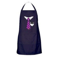 Called to Serve Missionary Tag Purple Apron (dark)