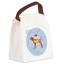 redbone-charm 2 Canvas Lunch Bag