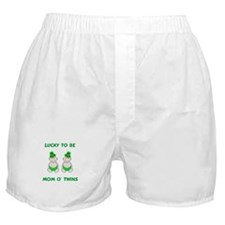 Mom O' Twins Boxer Shorts