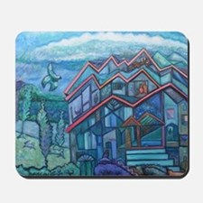 House that Chirp Built Mousepad