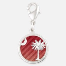 Mousepad Silver Round Charm