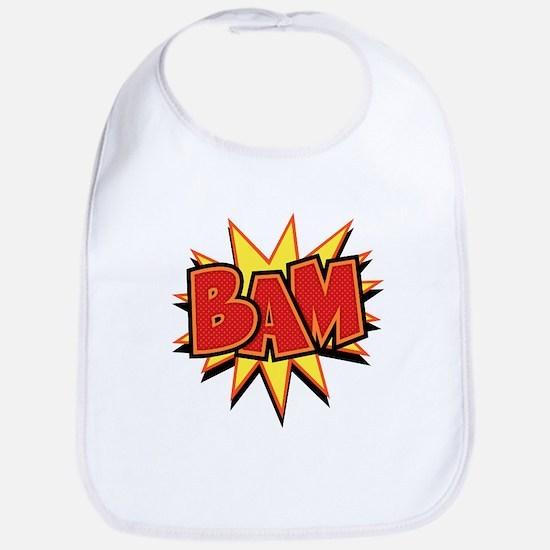 2-bam3-T Baby Bib