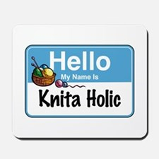 Hello My Name is... Mousepad