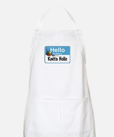 Hello My Name is... BBQ Apron