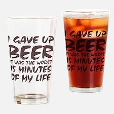 WORSTDAY Drinking Glass