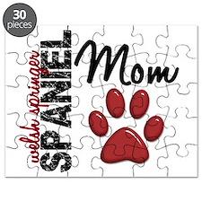 D Welsh Springer Spaniel Mom 2 Puzzle