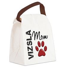 D Vizsla Mom 2 Canvas Lunch Bag