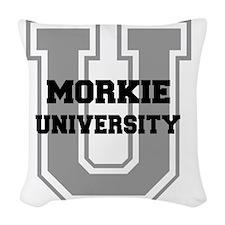 morkieu Woven Throw Pillow