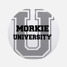 morkieu Round Ornament