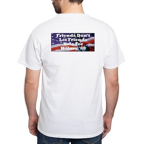 Hillary/Kennedy White T-Shirt