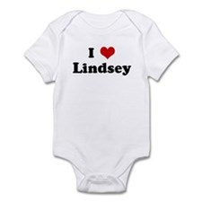 I Love Lindsey Infant Bodysuit
