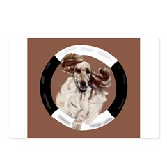Agility English Cocker Postcards (Package of 8)