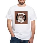 Agility English Cocker White T-Shirt