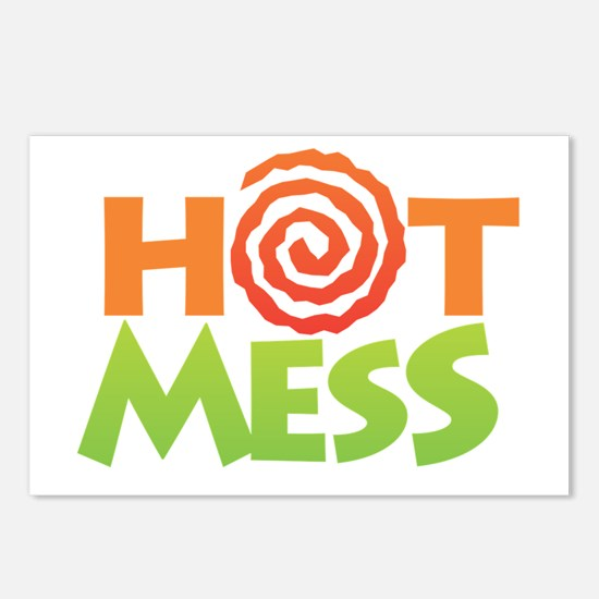 Hot Mess Postcards (Package of 8)