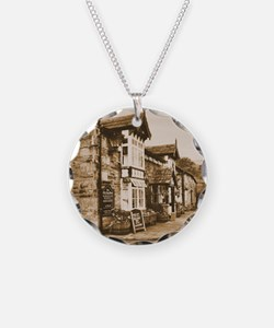 The Pub | Newspaper Necklace