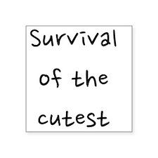 """fixed_survival Square Sticker 3"""" x 3"""""""