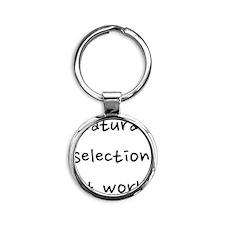 fixed_naturalselection Round Keychain