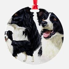 Bor Collie blanket Ornament