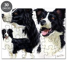 Bor Collie blanket Puzzle