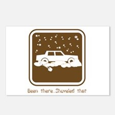 Been There,Shoveled That Postcards (Package of 8)