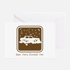 Been There,Shoveled That Greeting Cards (Package o