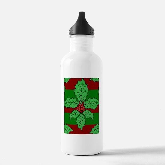 FleurHollyLfPst443iph Water Bottle