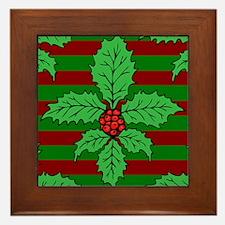 FleurHollyLfPs460ip Framed Tile