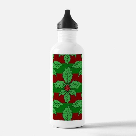 FleurHollyLfPst441iph Water Bottle