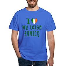 I Love My Irish Family T-Shirt
