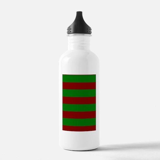 FleurHollyLfStp5x8jr Water Bottle