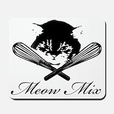 Meow Mix Mousepad