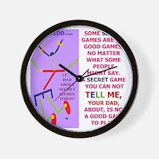 Not  a good game-TI.DAD Wall Clock