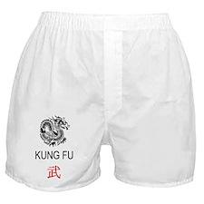 Kung Fu + Dragon Boxer Shorts