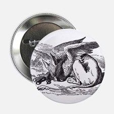 Sleeping Gryphon Button