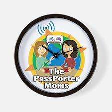 passporter-moms-logo-big Wall Clock