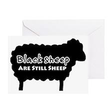 black sheep2 Greeting Card