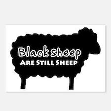 black sheep2 Postcards (Package of 8)