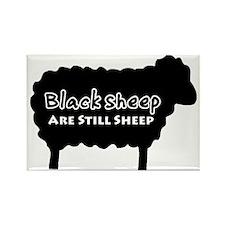 black sheep2 Rectangle Magnet