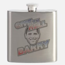 Give Em Hell Barry Flask