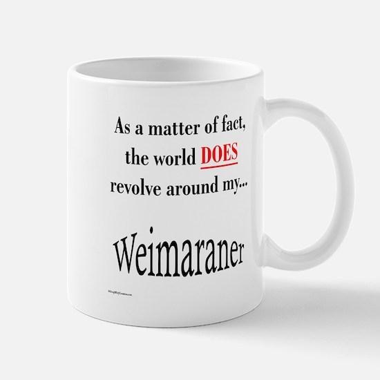 Weimaraner World Mug
